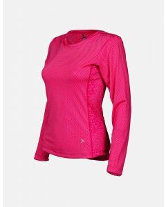 Feathertech Longsleeve Women Pink