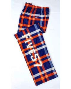 Five57 Fleece Lounge Pants Orange/Navy