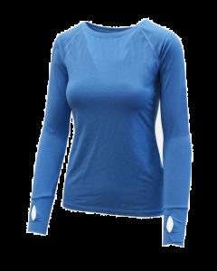 Infinity Shirt Longsleeve Women Blue