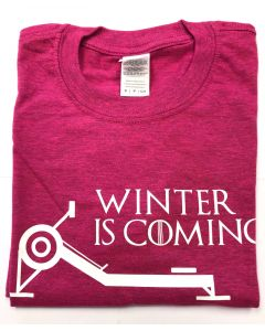 Winter is Coming Unisex S/S Tee Heather Pink