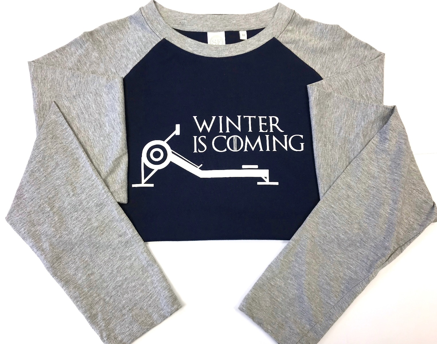 Winter is Coming Long-sleeve Baseball Top men