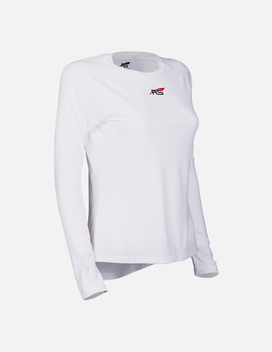 Speedshirt Longsleeve Women White
