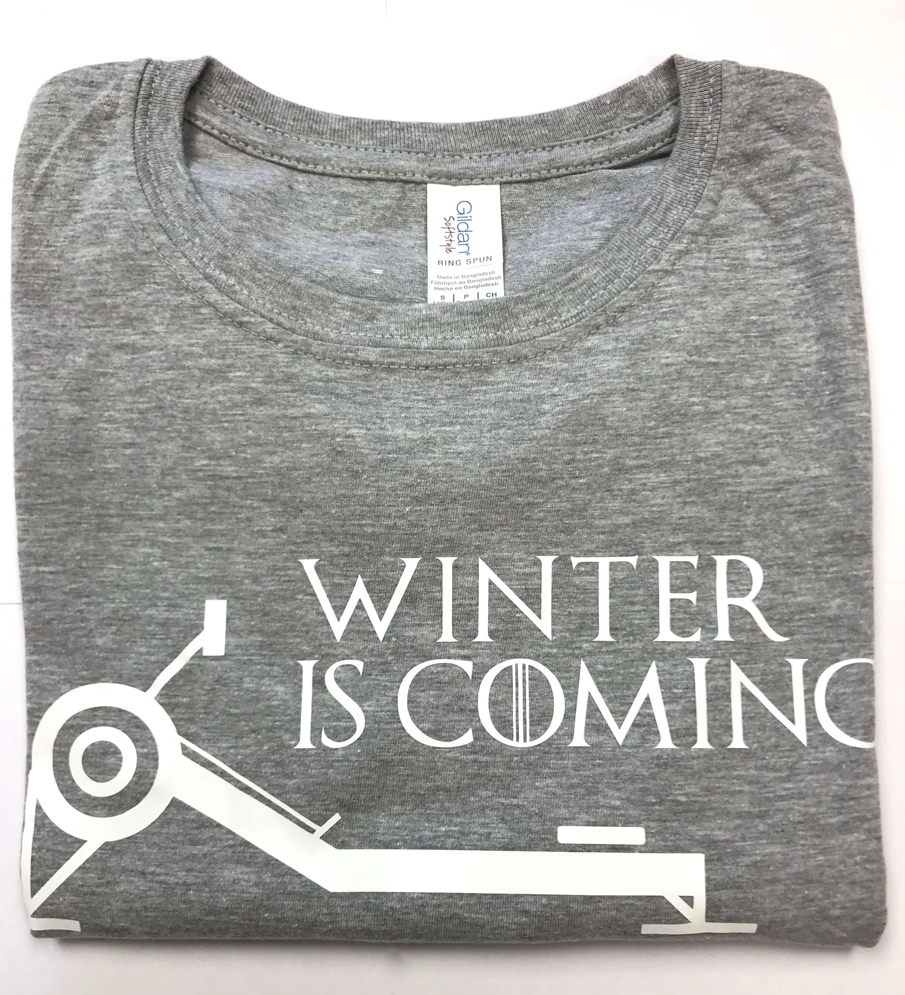 Winter is Coming Womens S/S Tee RS Sport Grey
