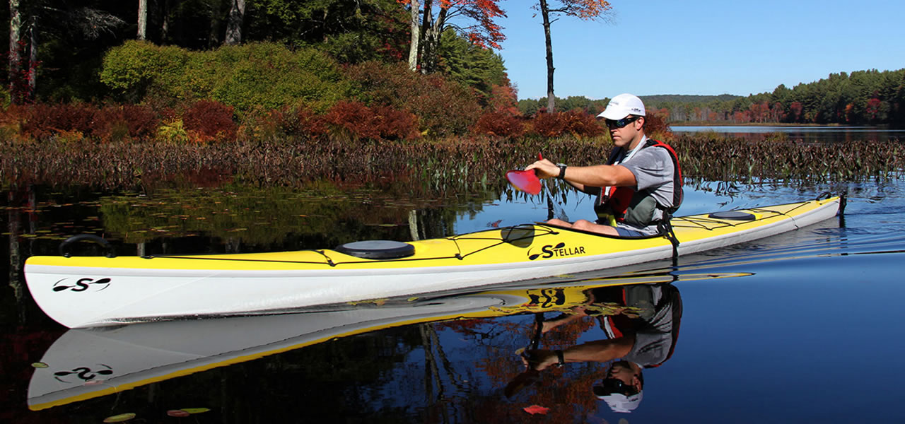 Stella Kayaks available to buy from Five57 Sportsgear